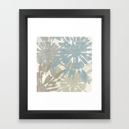 Beach Curry III Framed Art Print