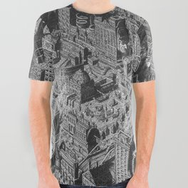 The River City. Pure Ink. All Over Graphic Tee