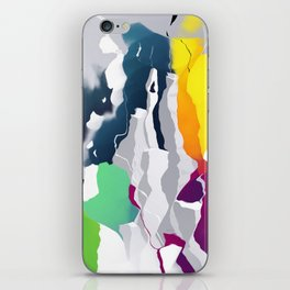 Who squashed the skyline iPhone Skin