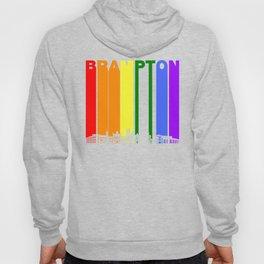 Brampton Ontario Gay Pride Rainbow Skyline Hoody