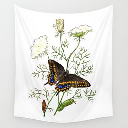 Black Swallowtail Wall Tapestry
