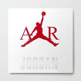 M Jordan air Metal Print