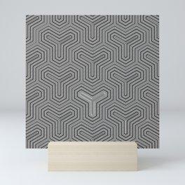 Odd one out Geometric Mini Art Print