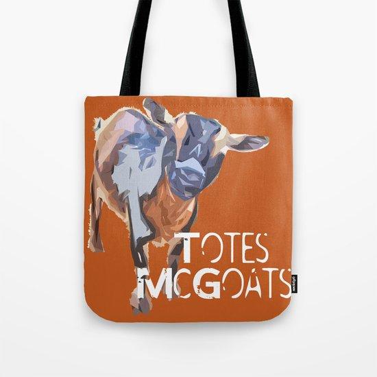 """Totes McGoats!"" ~ Nigerian Dwarf Goat Pop Art Photography!  Gotta Love the Goaty-Woaties! Tote Bag"