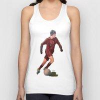 soccer Tank Tops featuring Soccer by Karen Pettengill