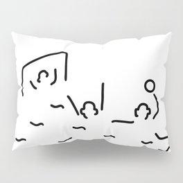 beach-ball gate wasserballer Pillow Sham