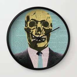 Working Man Wall Clock