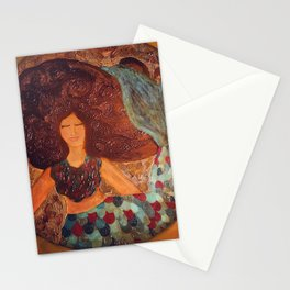 The Peaceful Mermaid  Stationery Cards