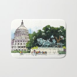 U.S. Capitol, Washington D.C. Bath Mat