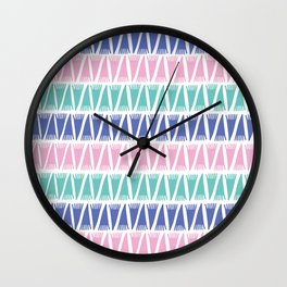 Tee Pee Pop Wall Clock