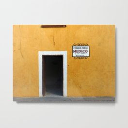 Mexican Yellow Nr.2 Metal Print