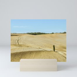 Typical landscapes for Siena Province in Tuscany Mini Art Print