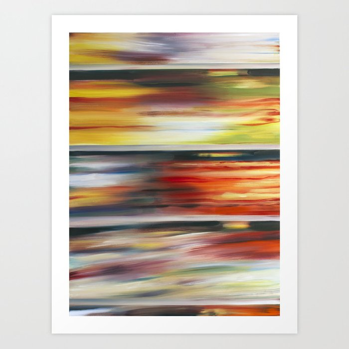 Cereal Aisle part 3 Art Print