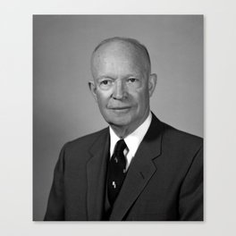 President Dwight Eisenhower Canvas Print