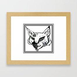 Vintage TechnoLynx. Framed Art Print