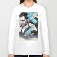 tom hiddleston Long Sleeve T-shirts featuring Tom Hiddleston by Yan Ramirez