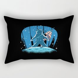 Cool USA Moon Landing Rectangular Pillow
