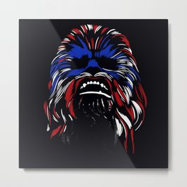 SPACE FRIEND AND HERO 2 Metal Print