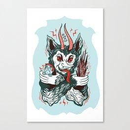 Merry Krampus! Canvas Print
