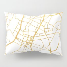 AUSTIN TEXAS CITY STREET MAP ART Pillow Sham