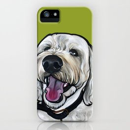 Kermit the labradoodle iPhone Case
