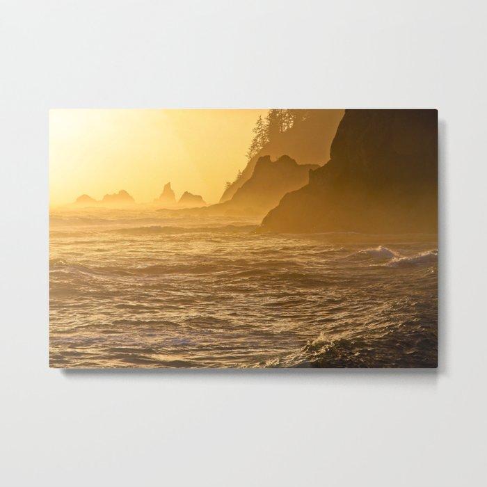 Rialto Beach Metal Print