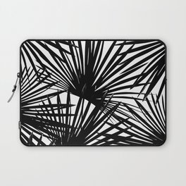 Tropical Fan Palm Leaves #2 #tropical #decor #art #society6 Laptop Sleeve