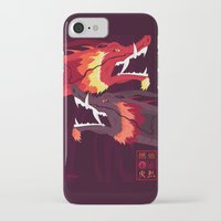 zuko iPhone & iPod Cases featuring Original Bending Masters Series: Ran and Shaw by miss-meza