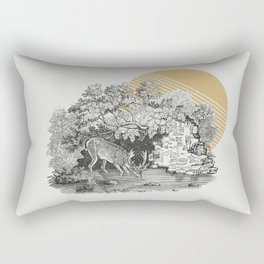 Hiding Place Rectangular Pillow