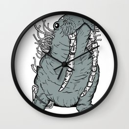 Walrusyborg Wall Clock