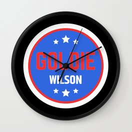 Goldie Wilson Wall Clock