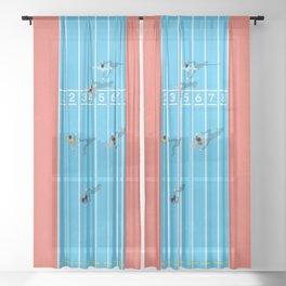 100m  Sheer Curtain