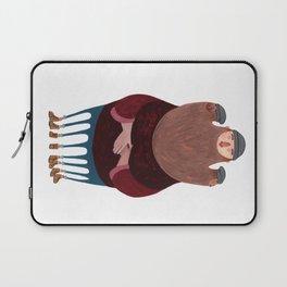 King Beardy Laptop Sleeve