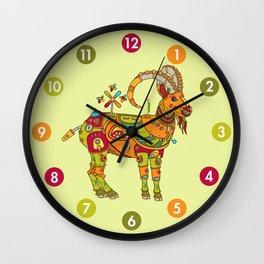 Ibex, cool wall art for kids and adults alike Wall Clock