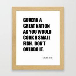 Great nation Framed Art Print