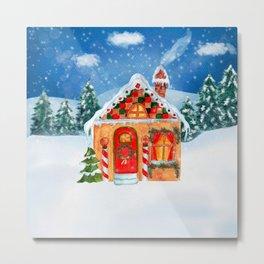 Gift Christmas Metal Print