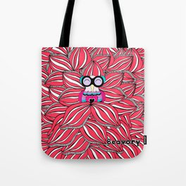 Red Blossom Tote Bag