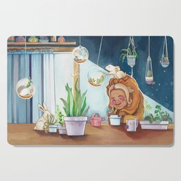 Musky Indoor Garden Cutting Board