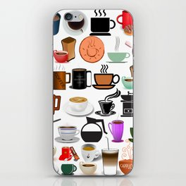 Coffee Mugs, Cups and Makers iPhone Skin