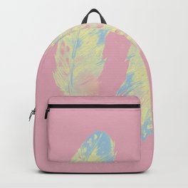 Abstract Feathers Backpack