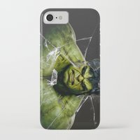 lannister iPhone & iPod Cases featuring Angry HULK  by bimorecreative