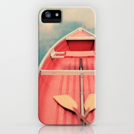 Floating On A Cloud iPhone Case