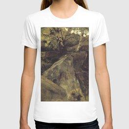 Jacob Maris - Landschap met rotsen, Fontainebleau T-shirt