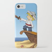pirate ship iPhone & iPod Cases featuring Pirate by TubaTOPAL
