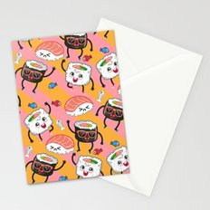 Sushi dance Stationery Cards