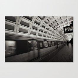 Going Somewhere? Canvas Print