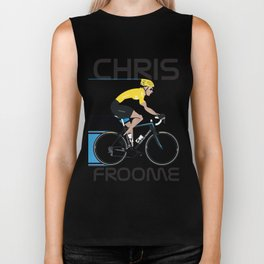Chris Froome Yellow Jersey Biker Tank