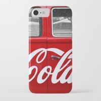 coca cola iPhone & iPod Cases featuring Coca Cola  by Lia Bernini