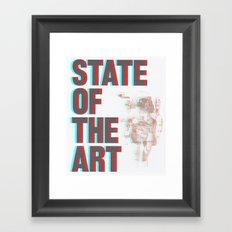 STATE OF THE ART Framed Art Print
