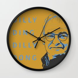 """Dilly Ding Dilly Dong"" Ranieri Print Wall Clock"